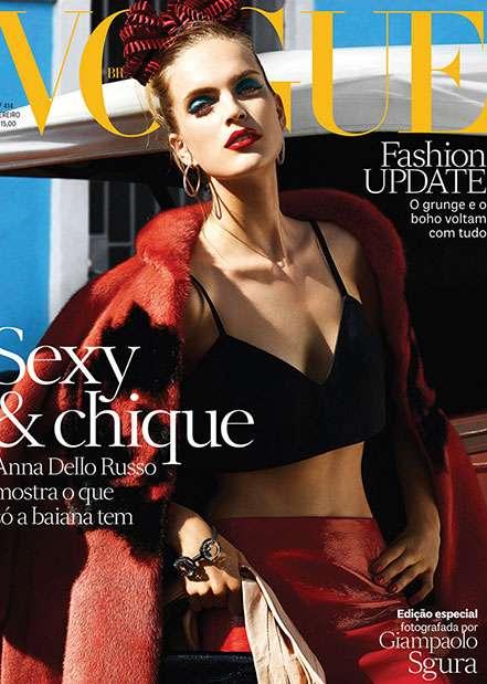 Vogue Brazil<br>January 2013