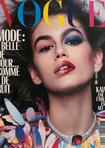 Vogue Paris<br>October 2018
