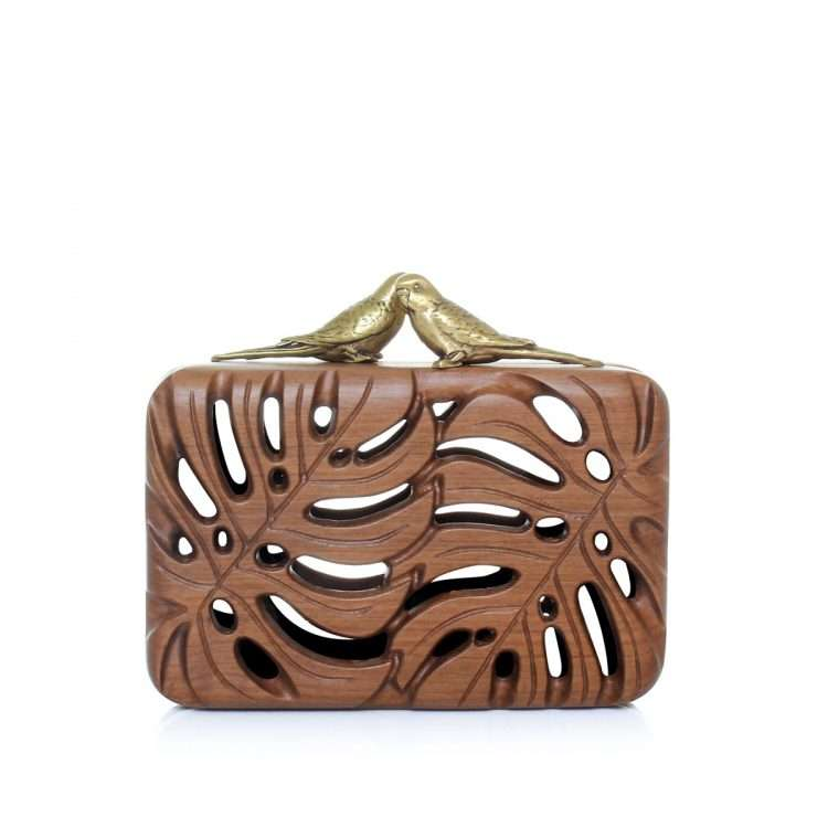 the adored bags neutrals straw/wood evening novelty bridal red carpet front