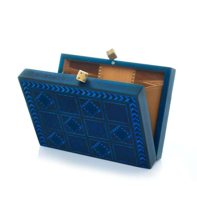 dama blue bags blue day novelty oriental open