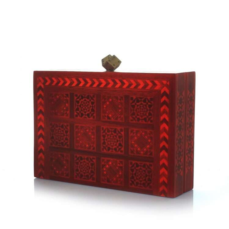 dama red bags red day novelty oriental side