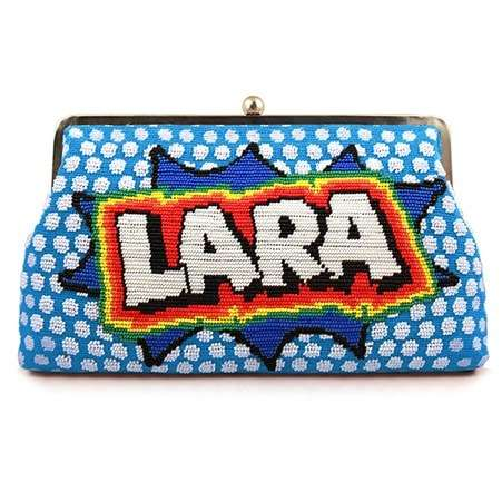 say my name pop blue clutch me bags blue clutch me day handwork customized