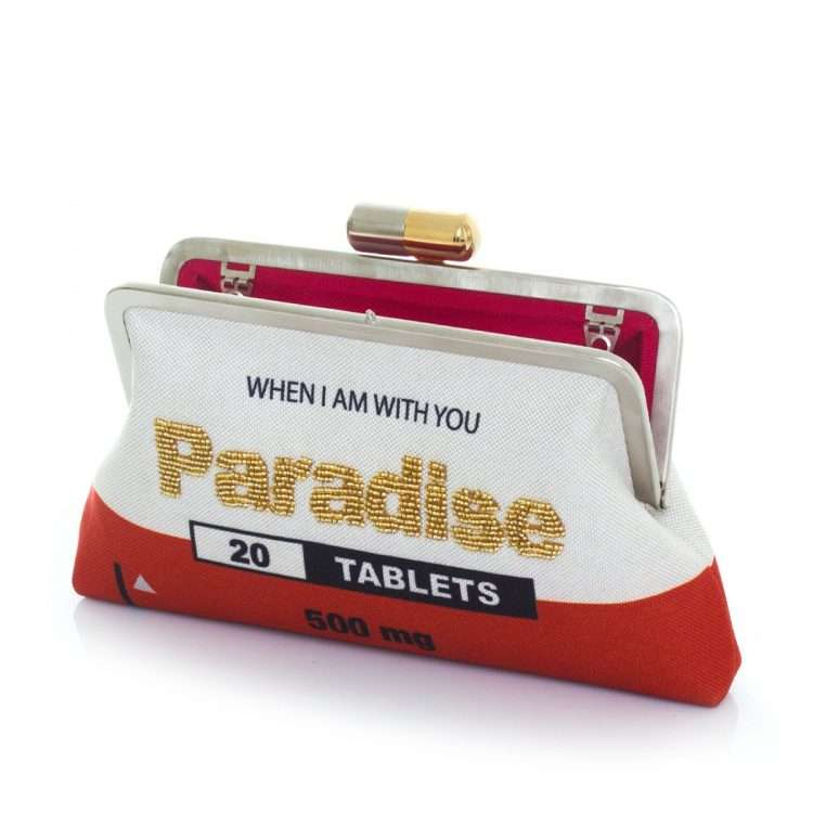 paradise red classic bags red white classic day handwork retail therapy open