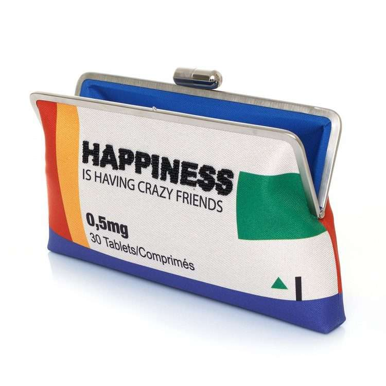 happiness clutch me bags multicolor clutch me day handwork retail therapy open