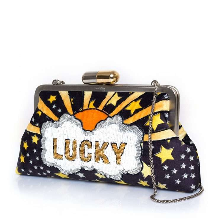 lucky gold classic bags black gold classic day handwork discotheque side