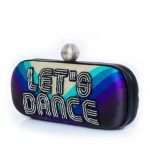 let's dance big box bags blue big box evening handwork discotheque side