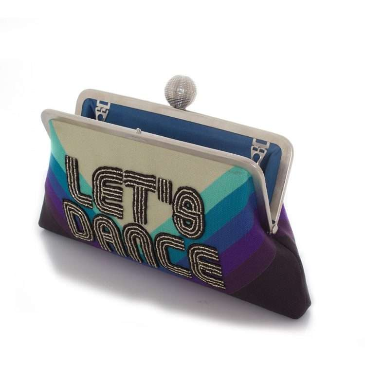 let's dance classic bags blue classic evening handwork discotheque open