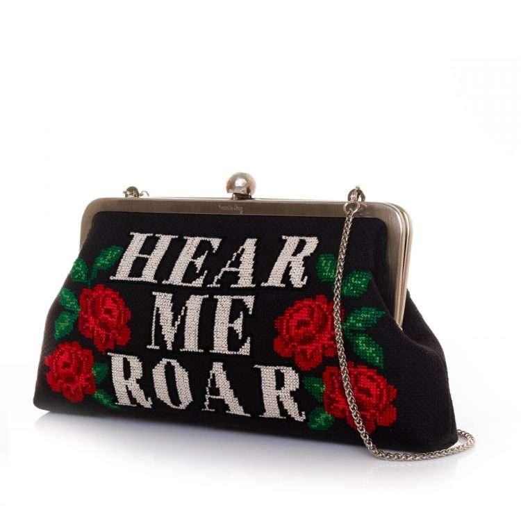 roar classic bags black classic day handwork rise up side