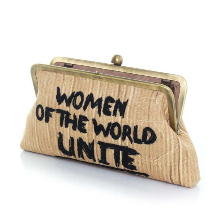 women unite classic bags neutrals classic day handwork rise up open