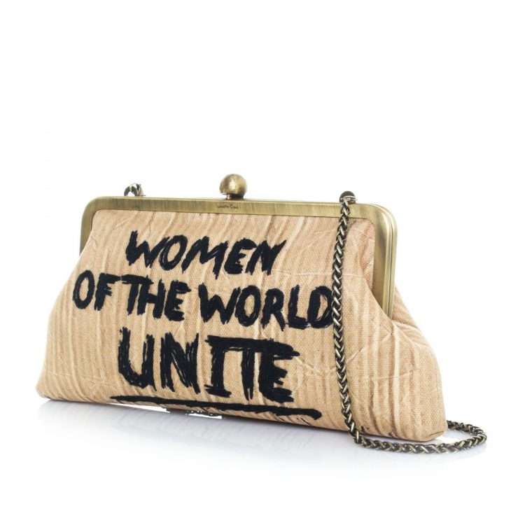 women unite classic bags neutrals classic day handwork rise up side