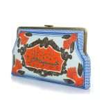 hashishet albi clutch me bags blue multicolor clutch me day handwork impressions side