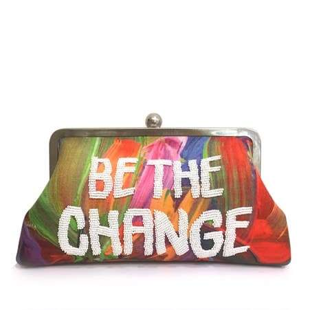 be the change classic bags multicolor red classic day handwork rise up front