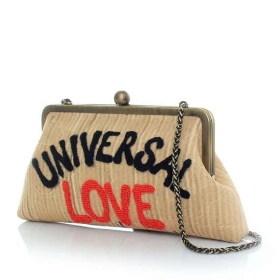 universal love classic bags neutrals classic day handwork rise up side