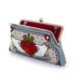 queen classic bags neutrals red classic day handwork love inked open