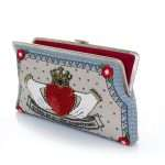 queen clutch me bags pastels red clutch me day handwork love inked open