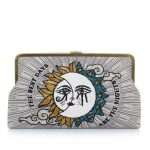 sun to moon clutch me bags blue neutrals clutch me day handwork love inked front