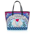 pisces caba bags blue multicolor caba day impressions love inked front