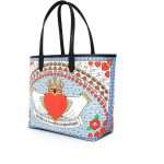 queen caba bags blue multicolor caba day impressions love inked side