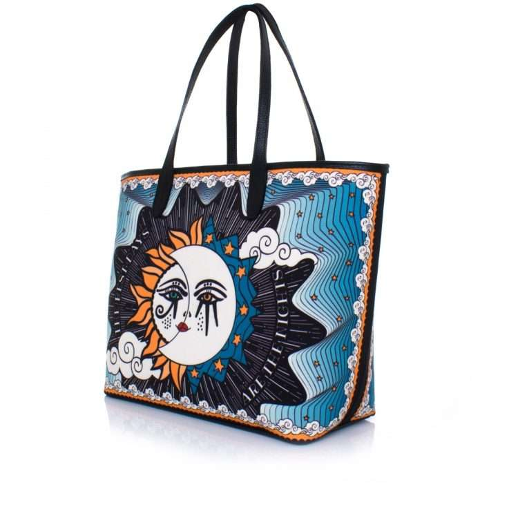 sun to moon caba bags blue multicolor caba day impressions love inked side