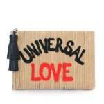 universal love pouch bags neutrals pouch day handwork rise up front