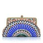 zellige classic bags blue multicolor classic day handwork oriental front