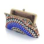 zellige classic bags blue multicolor classic day handwork oriental open