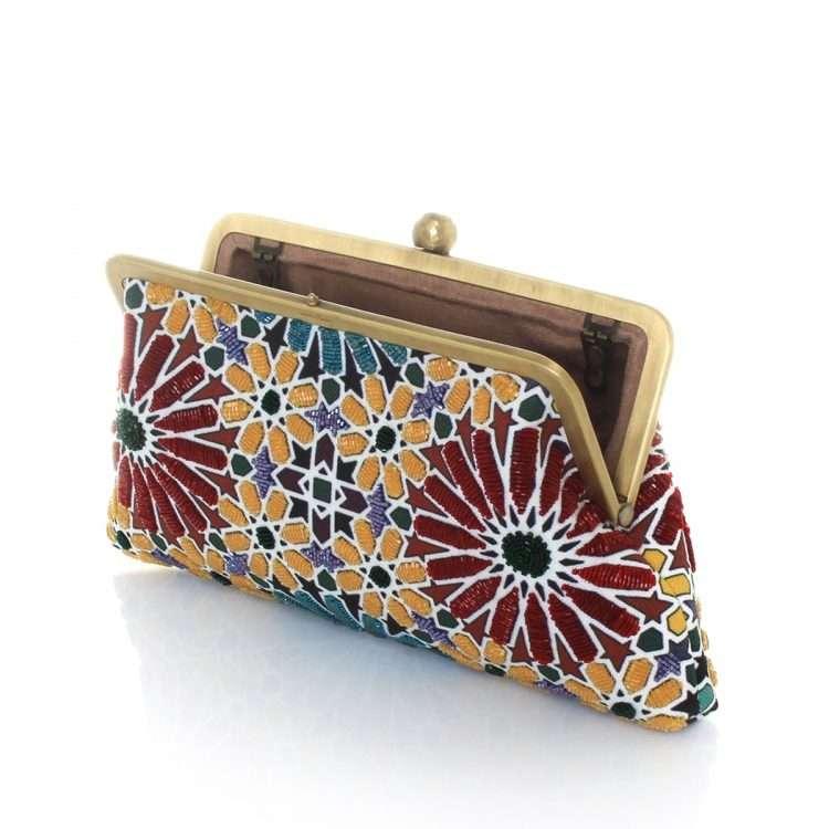 moroccan classic bags multicolor classic day handwork oriental open