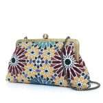 moroccan classic bags multicolor classic day handwork oriental side
