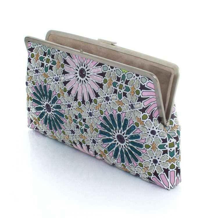 moroccan pastel clutch me bags pastels clutch me day handwork oriental open