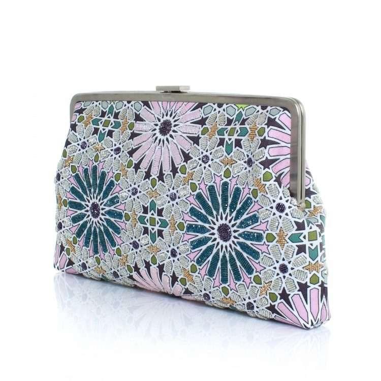 moroccan pastel clutch me bags pastels clutch me day handwork oriental side