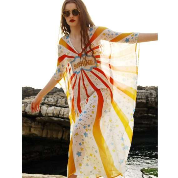 sunshine kaftan side