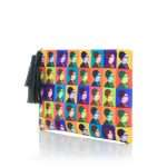 oum kalthoum warhol pouch bags multicolor pouch day impressions impressions side