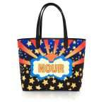 say my name lucky caba bags blue multicolor orange caba day impressions customized front