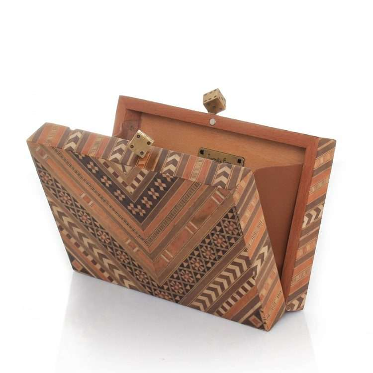 afro marquetry bags neutrals day evening novelty afrodisiac open