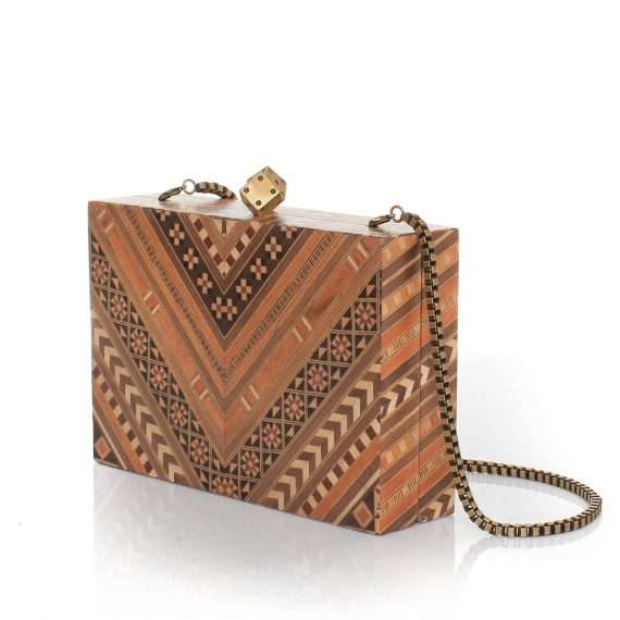 afro marquetry bags neutrals day evening novelty afrodisiac side