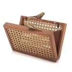 birds gold straw box bags gold neutrals box evening handwork afrodisiac bridal open