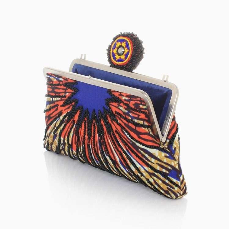 burst strap classic bags multicolor orange classic day handwork afrodisiac open