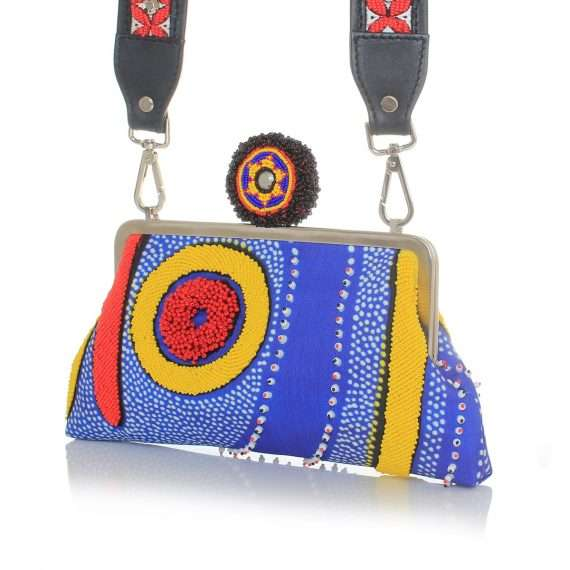 lava strap classic bags blue multicolor classic day handwork afrodisiac side