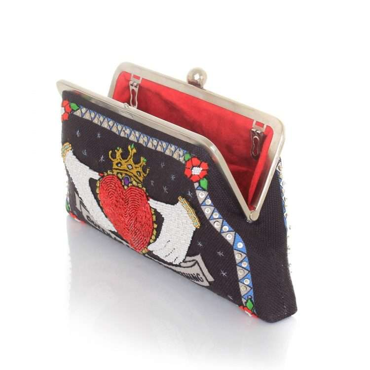 queen black classic bags black red classic day handwork love inked open