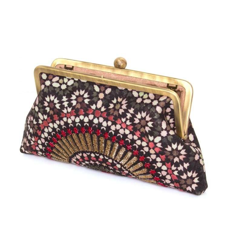 zellige ruby classic bags green red classic day handwork oriental open