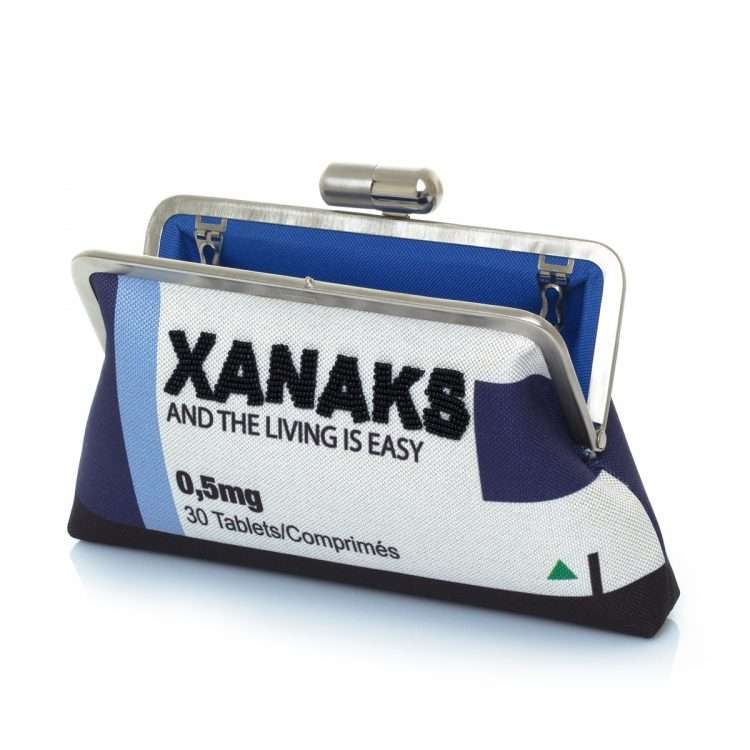 xanaks classic bags blue white classic day handwork retail therapy open