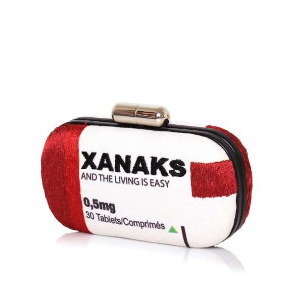 xanaks box bags red box evening handwork retail therapy side