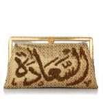 saada gold grace bags gold metallic grace day handwork oriental front