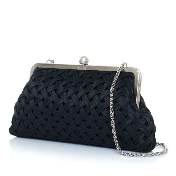 vine black classic bags black classic evening handwork essentials red carpet side
