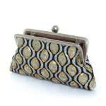 retro embossed classic bags gold metallic silver classic evening handwork essentials open