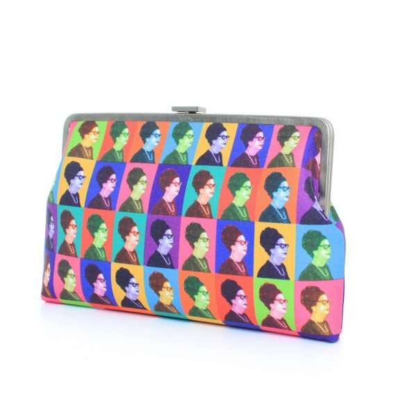 oum kalthoum warhol clutch me bags multicolor clutch me day impressions impressions side