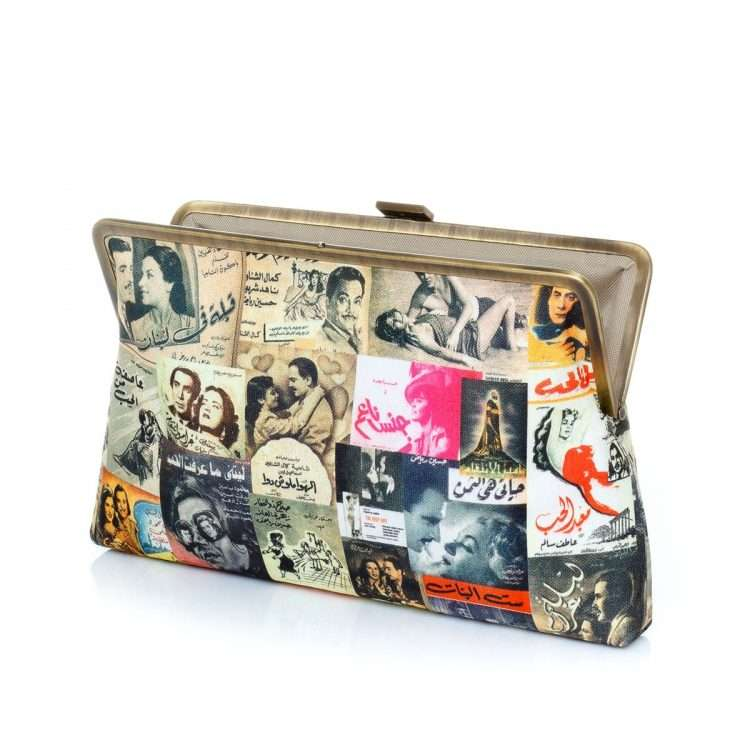 posters clutch me bags multicolor yellow clutch me day impressions impressions open