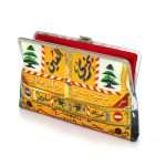beirut camion clutch me bags yellow clutch me day impressions impressions open