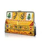 beirut camion clutch me bags yellow clutch me day impressions impressions side