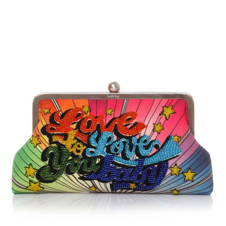 love to love classic bags multicolor classic day handwork discotheque front